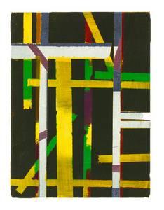 Werner Neuwirth, Minimum 43, Acryl/Leinwand