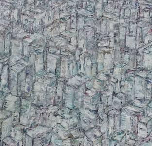 New York, Öl/Lwd., 2018, 120x115 cm