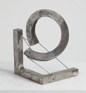 Spirale, Würfel, Stahl, 2013, H 21 cm
