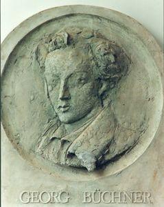 Bärbel Dieckmann, Georg Büchner, Relief, Gips